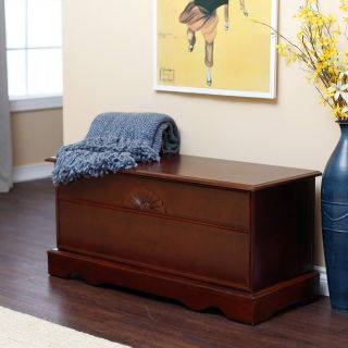 Aster Cedar Hope Chest   Cherry Finish   Cedar & Hope Chests