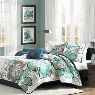 Mizone Allison Skylar Quilt Set   Quilts & Coverlets