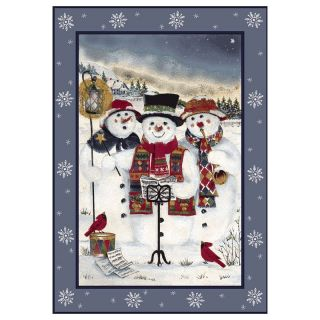 Holiday Collection   Merry Minstrels Rug   Indoor Mats