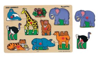 Ryans Room Classic Puzzle   Zoo Animals   Learning Aids