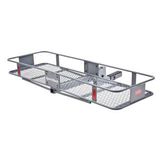 SportRack Hitch Mounted Folding Cargo Carrier   Granite Gray   Cargo Carriers & Bike Racks