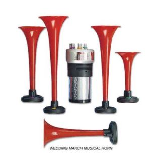 Wolo Manufacturing Wedding March Musical Air Horns