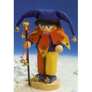 Steinbach Chubby Court Jester German Christmas Nutcracker   Nutcrackers