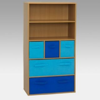 4D Concepts Storage Bookcase   Blue   Kids Bookcases