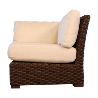 Lloyd Flanders Mesa All Weather Wicker Corner Sectional Chair   Patio Chairs