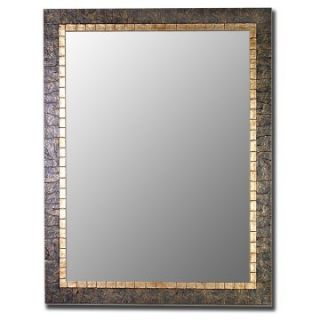 Mesa Verdi & Gold Accent Mirror   Wall Mirrors