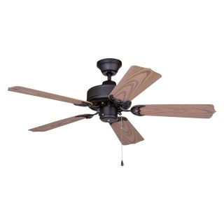 Ellington WOD42MBK5X All Weather 42 in. Outdoor Ceiling Fan   Matte Black   Outdoor Ceiling Fans