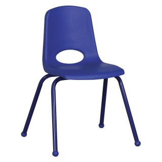 ECR4KIDS 18 in. School Stacking Chair with Matching Legs   School Chairs