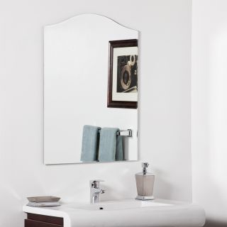 Allison Modern Bathroom Mirror   Wall Mirrors