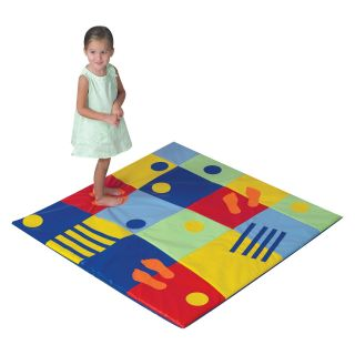 Children's Factory Colorful Feet Activity Mat   Mats & Cots