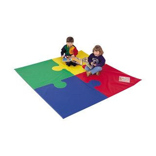 Children's Factory Square Puzzle Activity Mat   Soft Play Equipment