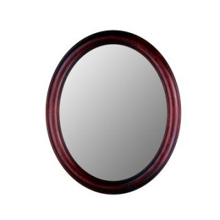 Hitchcock Butterfield Premier Series Oval Wall Mirror   771   Rosewood   Wall Mirrors