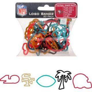 San Francisco 49ers Logo Bandz Bracelets
