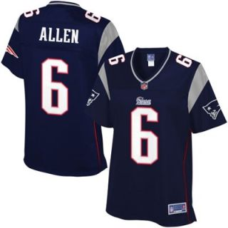 Pro Line Womens New England Patriots Ryan Allen Team Color Jersey