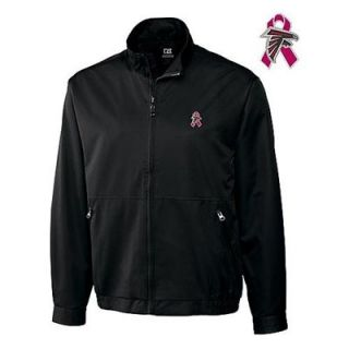 Cutter & Buck Atlanta Falcons Breast Cancer Awareness WeatherTec153 Jacket