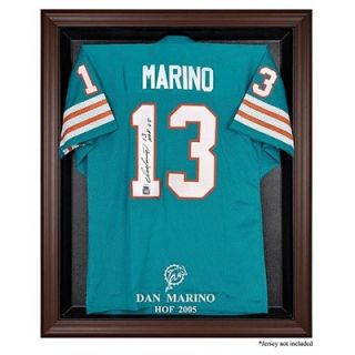 Miami Dolphins Dan Marino Hall of Fame Brown Frame Jersey Case