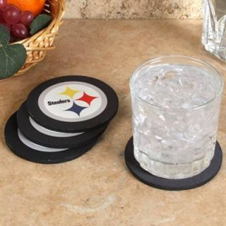 Pittsburgh Steelers 4 Pack Round Neoprene Coaster Set