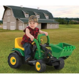 Peg Perego John Deere Power Loader   Preschool   IGED1111   Battery Powered Riding Toys