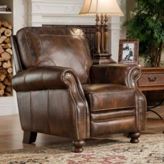 D'Oro Portofino Leather Recliner   Leather Recliners