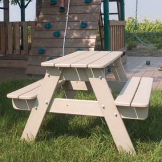 POLYWOOD® Recycled Plastic Kids Picnic Table   Kids Picnic Tables