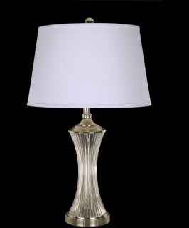 Dale Tiffany Wheeler Crystal Table Lamp   Table Lamps