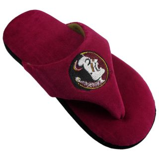 Comfy Feet NCAA Comfy Flop Slippers   Florida State Seminoles   Mens Slippers
