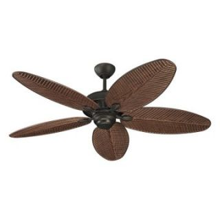 Monte Carlo 5CU52RB Cruise 52 in. Indoor / Outdoor Ceiling Fan   Roman Bronze   Outdoor Ceiling Fans