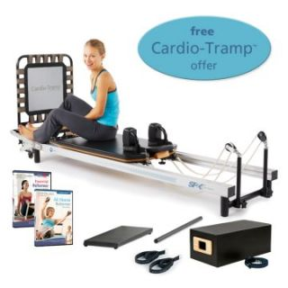 STOTT PILATES SPX Reformer Package with FREE Cardio Tramp Rebounder   Pilates and Yoga