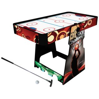 Harvard 54 in. 8 in 1 Flip n Fun Game Table   Air Hockey Tables