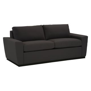Lazar Geo Condo Sofa with Wood Base   Sofas