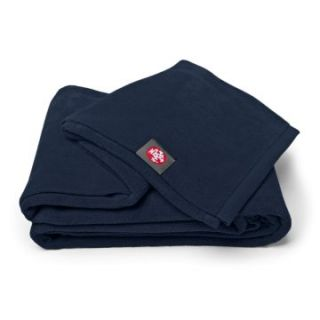 Manduka Hot Yoga Standard Towel   Midnight   Pilates and Yoga