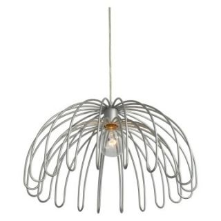 Varaluz Clyde 1 Light Pendant   18W in. Painted Chrome   Ceiling Lights