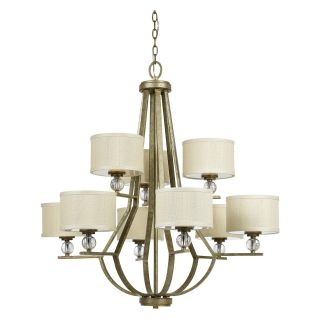 Yosemite Home Decor Lewisia 9 Light Chandelier   35.5W in.   Golden Dew   Chandeliers