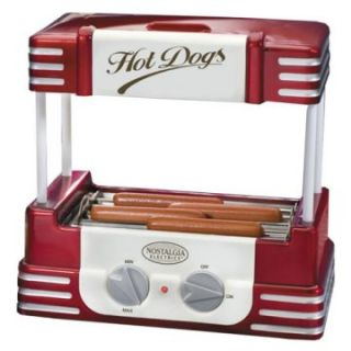 Nostalgia Electrics™ RHD 800 Retro Hot Dog Roller   Hot Dog Makers