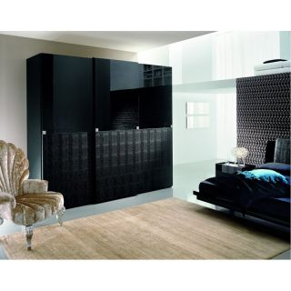 Rossetto USA Black Diamond Wardrobe   Closet Organizers