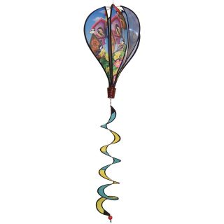 In the Breeze Chickadee Birdhouse Hot Air Balloon Wind Spinner   Wind Spinners