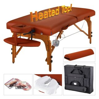 Master Massage Santana Therma Top LX Portable Massage Table Package   Massage Tables