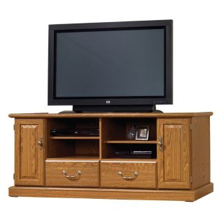 Sauder Orchard Hills Entertainment Credenza   Carolina Oak   TV Stands