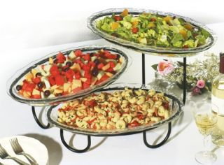Creative Bath 3 Tier Buffet Server   Serving Platters