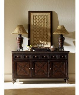 Tommy Bahama by Lexington Home Brands Royal Kahala Palm Shores Buffet   Dining Accent Furniture