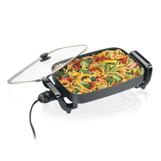 Hamilton Beach 38530R 12 x 15 in. Nonstick Electric Skillet   Electric Skillets