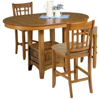 Liberty Furniture Santa Rosa Mission Oak Pub Table   Dining Tables