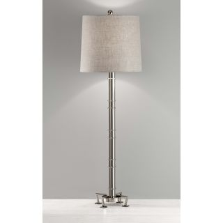 Murray Feiss Edessa 10068PN Buffet Lamp   11 diam. in.   Polished Nickel   Table Lamps