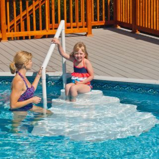 Swim Time Wedding Cake Above Ground Pool Step   Swimming Pools & Supplies