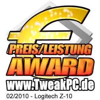 Logitech Z10 2.0 PC Lautsprechersystem 30 Watt RMS Computer & Zubeh�r