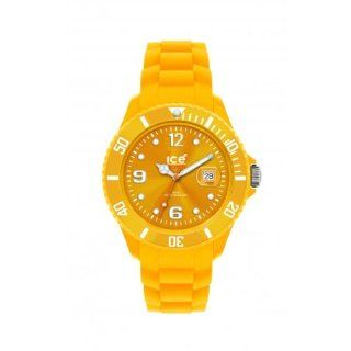 Ice Watch Unisex Armbanduhr Big Big Sili Collection Orange SI.GL.B.S.10: Uhren