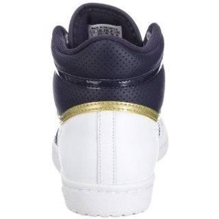 adidas Originals TOP TEN HI SLEEK W V22856, Damen Sneaker, Weiss (WHT/MARINE/M), EU 43 1/3 (UK 9) Schuhe & Handtaschen