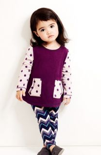 Tucker + Tate Tunic & Print Leggings (Baby Girls)