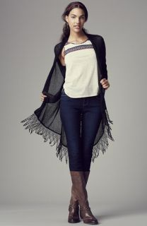 Painted Threads Cardigan, Chloe K Tank & Jolt Skinny Jeans