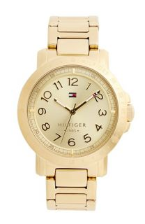 Tommy Hilfiger Logo Bezel Bracelet Watch, 38mm